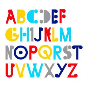 Type Design: Leigh (Uppercase)
