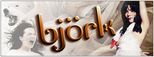 Bjork's Official Website!