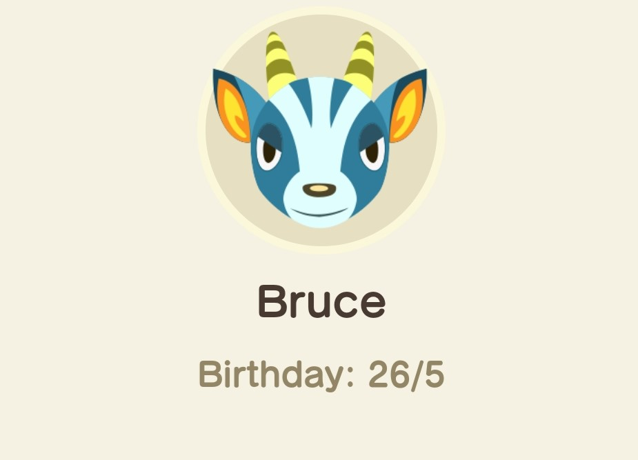Animal Crossing New Horizons-bruce