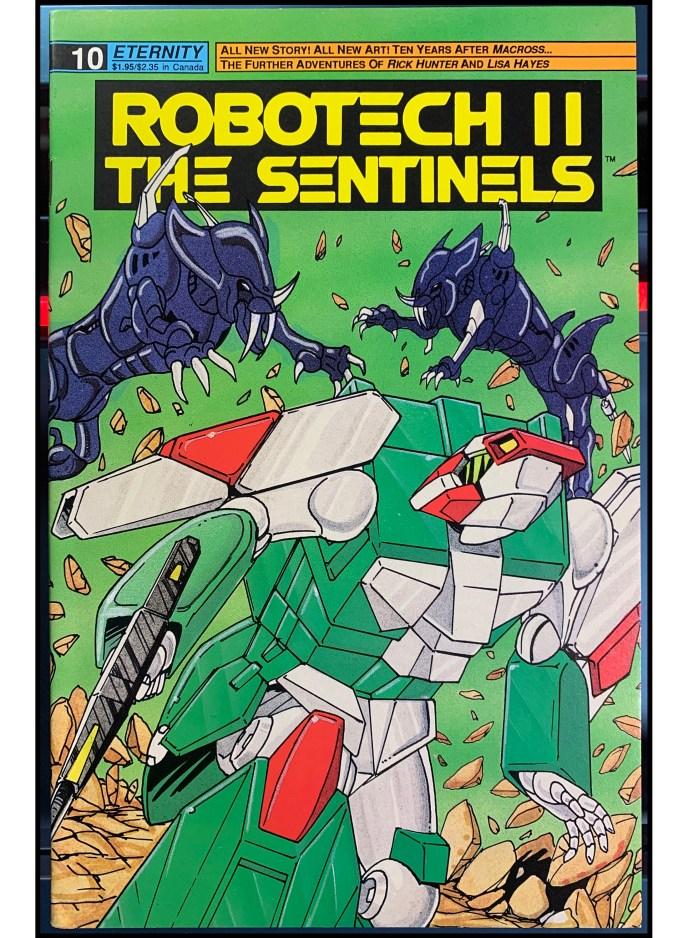 Robotech II The Sentinels #10