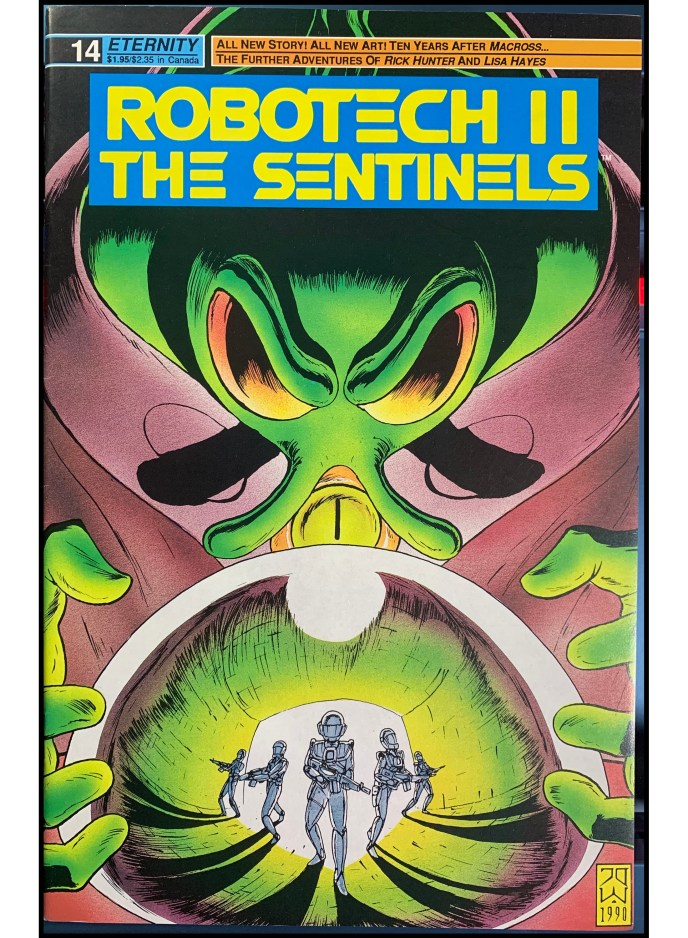 Robotech II The Sentinels #14