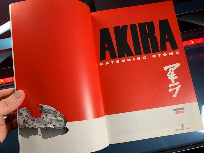Akira Book 1 interior color
