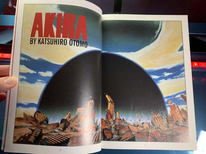 Akira Book 1 by Katsuhiro Otomo