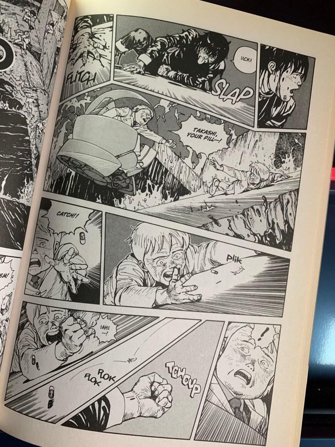 Akira graphic novel