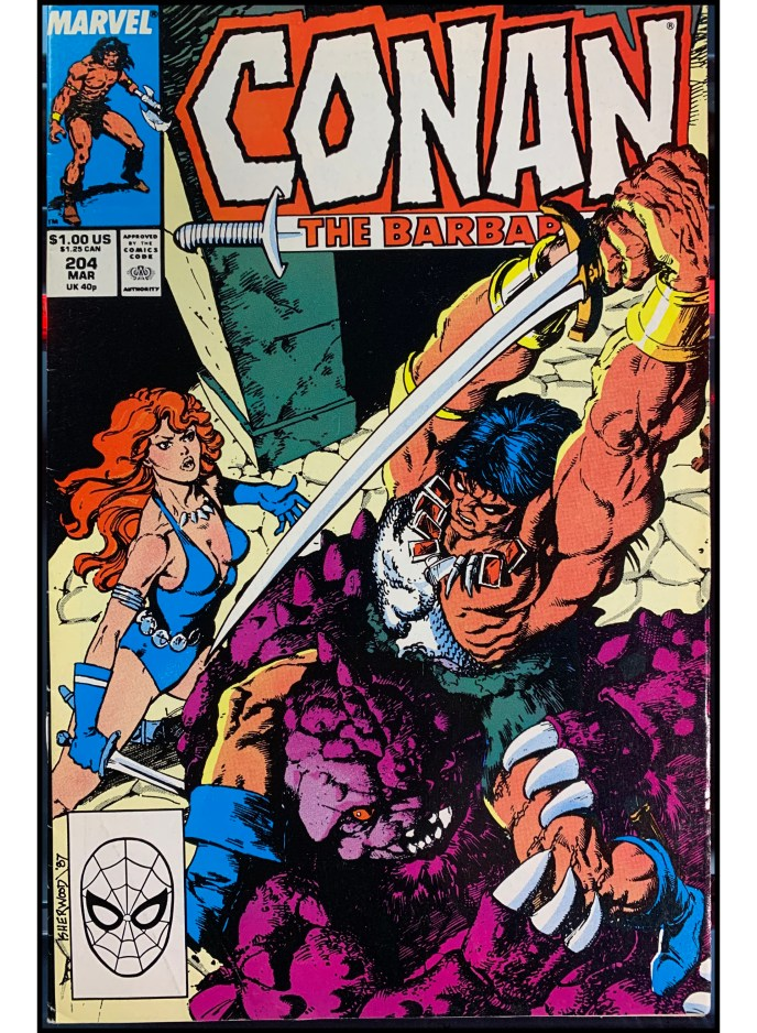 Conan the Barbarian #204