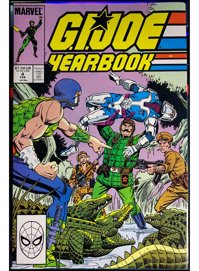 G.I. Joe Yearbook #4
