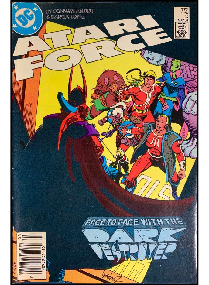 Atari Force (1984) #5