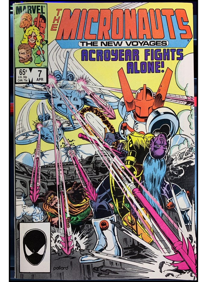 Micronauts: The New Voyages #7