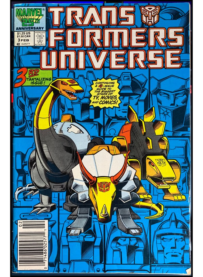 Transformers Universe #3