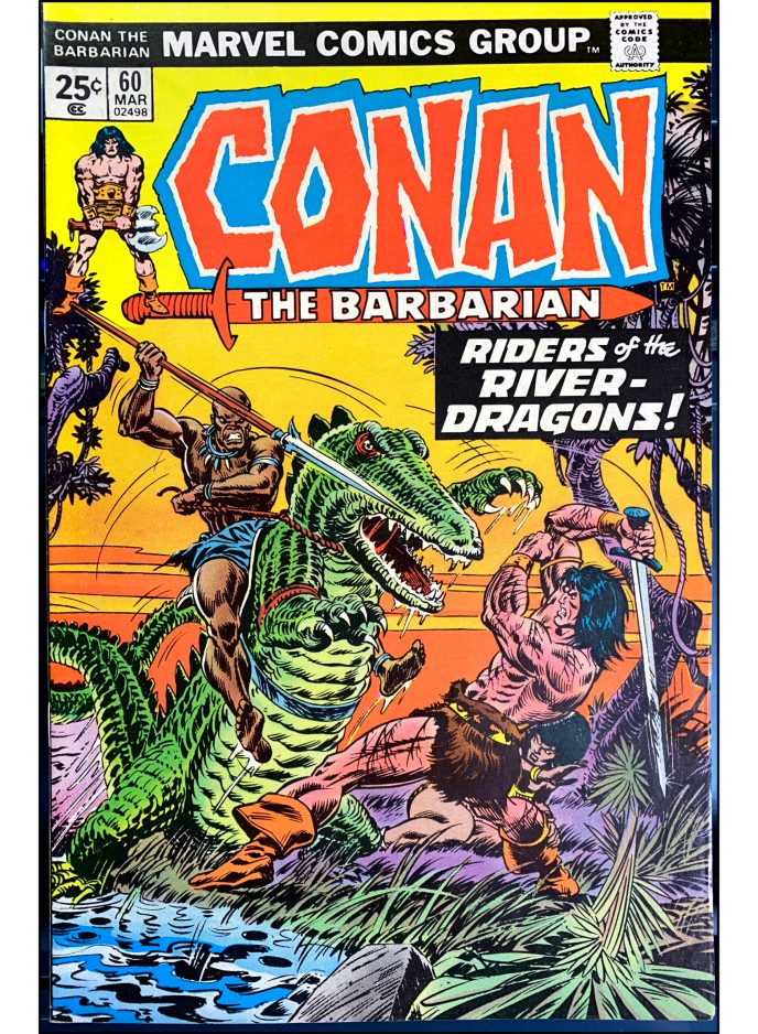 Conan the Barbarian #60