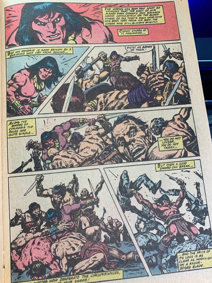 Conan the Barbarian #131 page scan 4