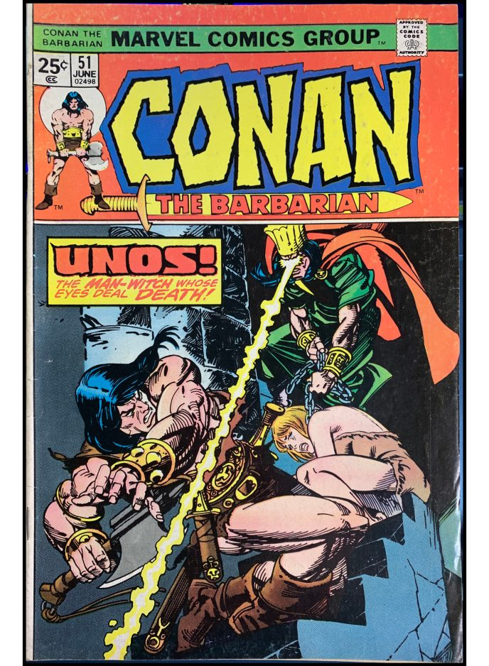 Conan the Barbarian #51