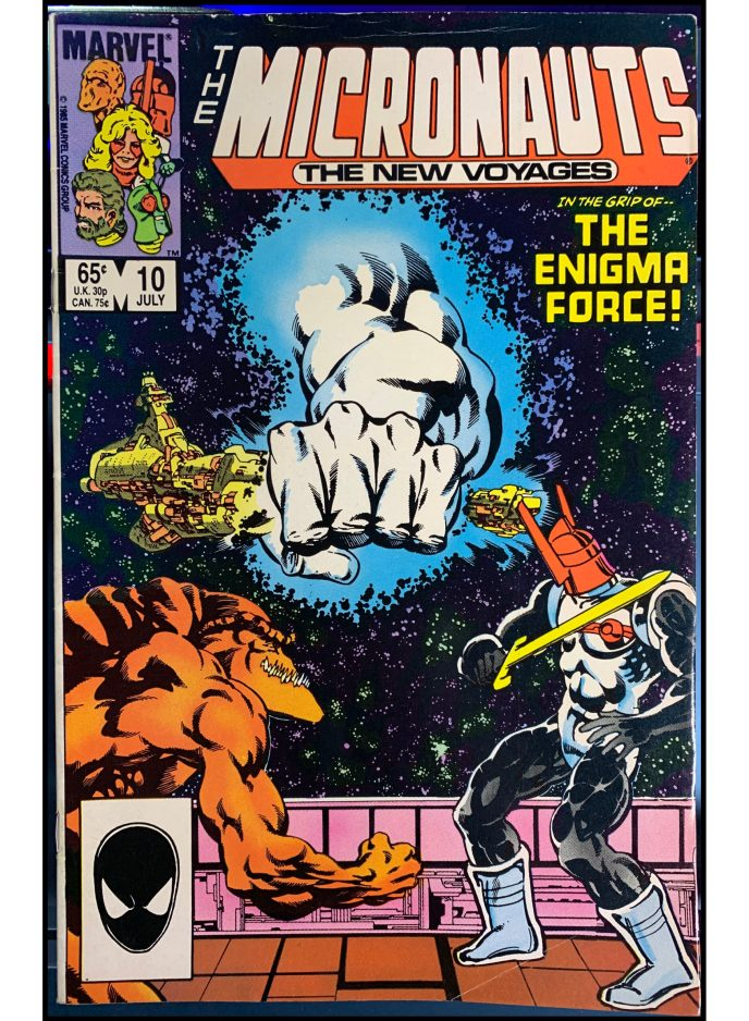 Micronauts: The New Voyages #10
