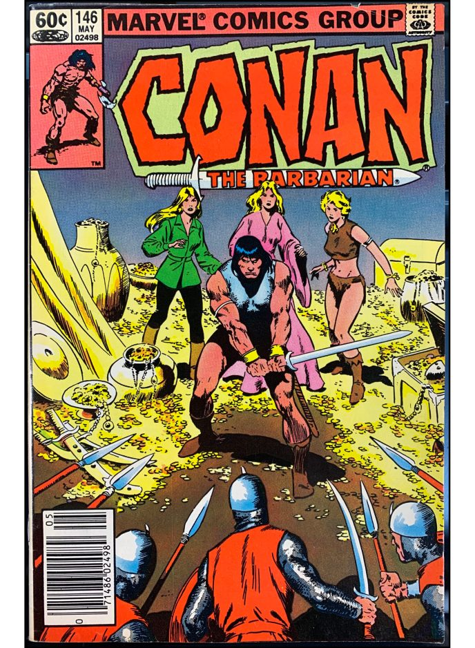 Conan the Barbarian #146