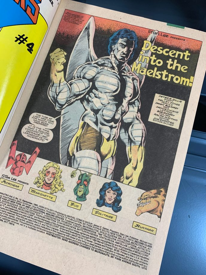 Micronauts The New Voyages #12 Image 1