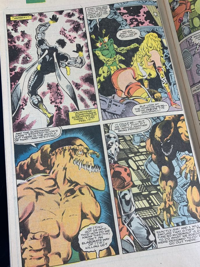 Micronauts The New Voyages #12 Image 4