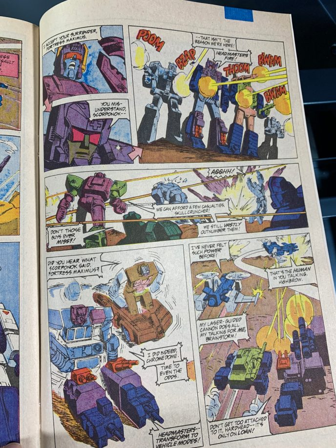 Transformers Head Masters #2 image 5