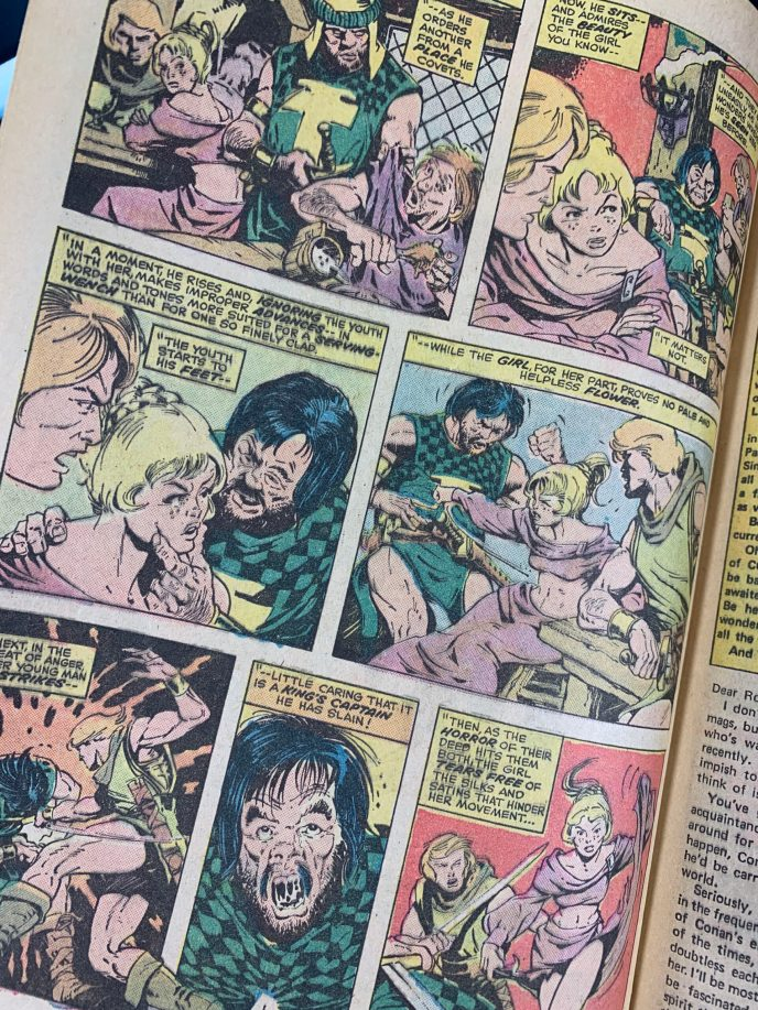 Conan the Barbarian #57 image 6
