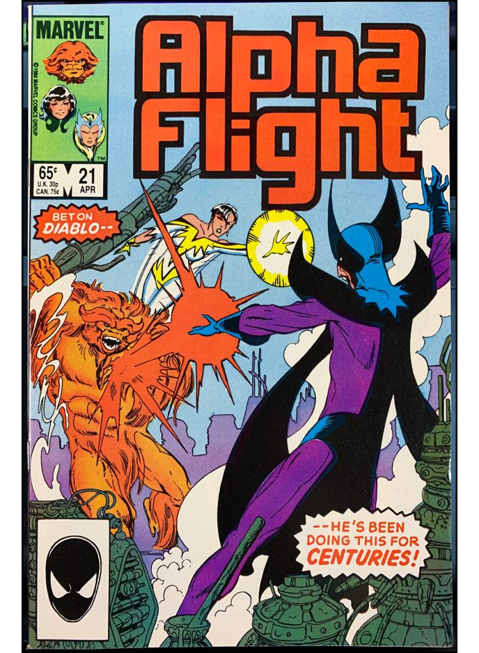 Alpha Flight #21