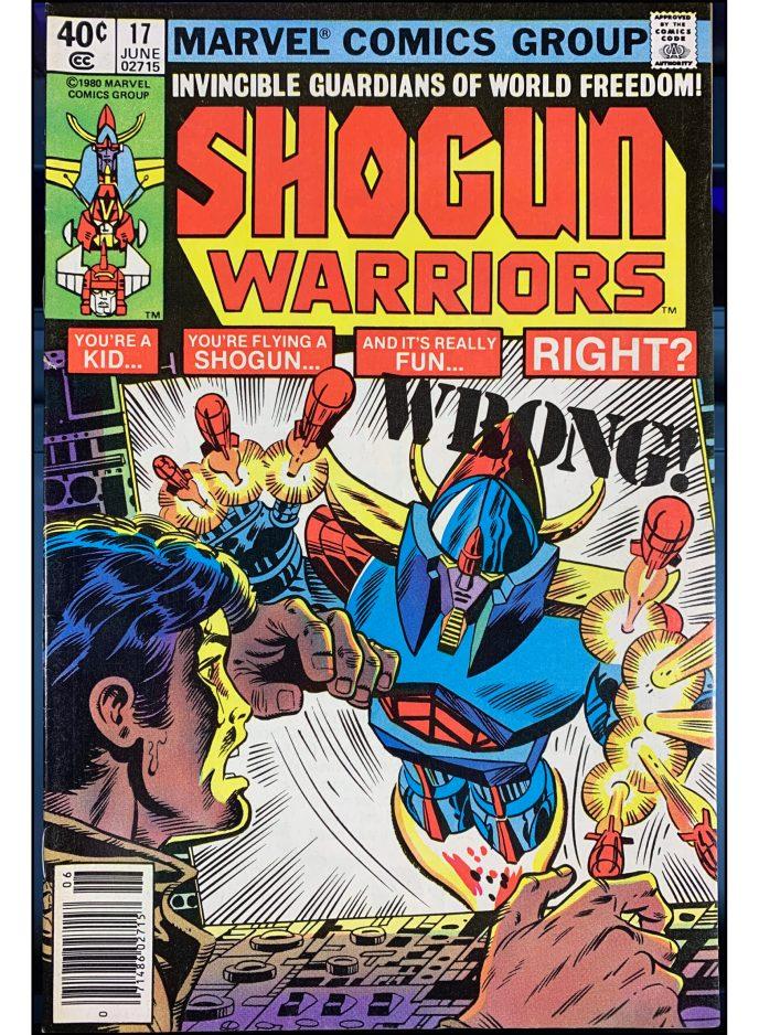 Shogun Warriors #17
