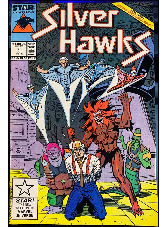 Silver Hawks #2