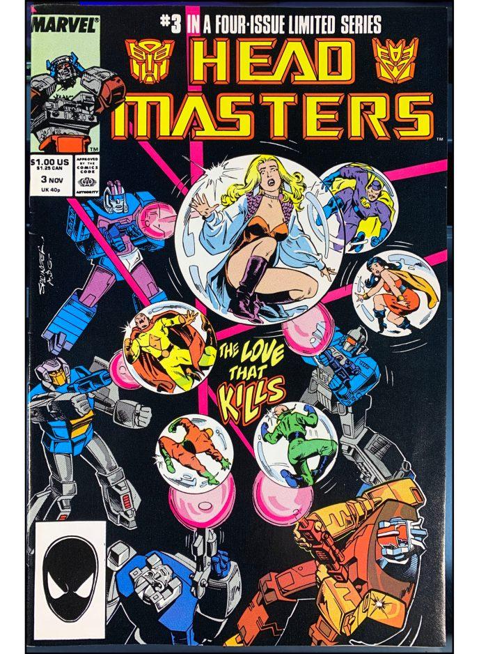 Transformers Headmasters #3