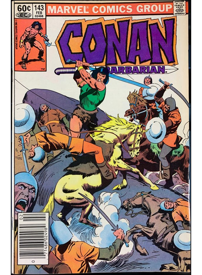Conan the Barbarian #143