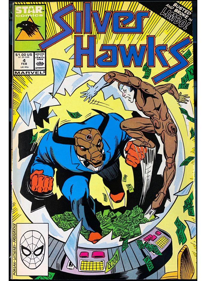 Silver Hawks #4