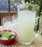 Skinny Margarita low carb sugar free low calorie recipe Christy Brissette 80 Twenty Nutrition dietitian