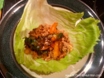Turkey Lettuce wraps low carb gluten free healthy appetizer healthy lunch dinner Christy Brissette media dietitian nutritionist expert 80 Twenty Nutrition