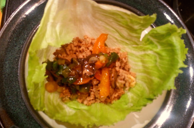 Scrumptious Turkey Lettuce Wraps