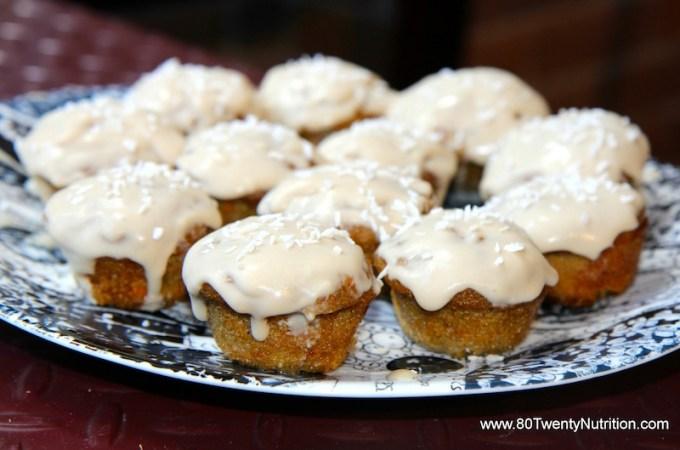 Carrot Cake Cupcakes – Vegan, Gluten Free and Paleo!