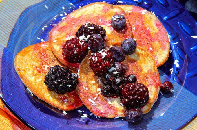 2 Ingredient Protein Pancakes – Gluten Free & Paleo