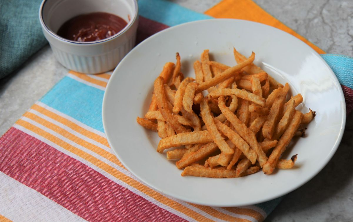 Jicama Fries - Baked Low Carb Keto French Fries