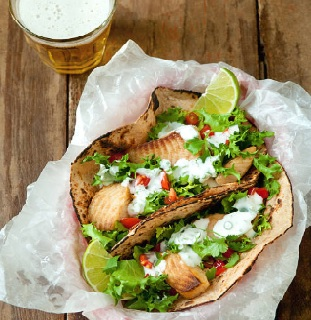 healthy taco night tips - how to choose healthy tacos and the best healthy fish taco recipes - Christy Brissette media registered dietitian nutritionist in Chicago - president of 80 Twenty Nutrition