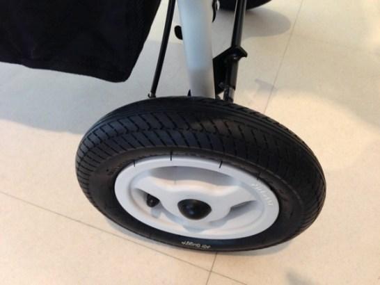 エアバギーココのタイヤ
