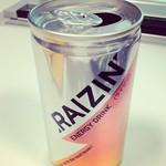 エナジードリンクのRAIZINを飲んでみた!