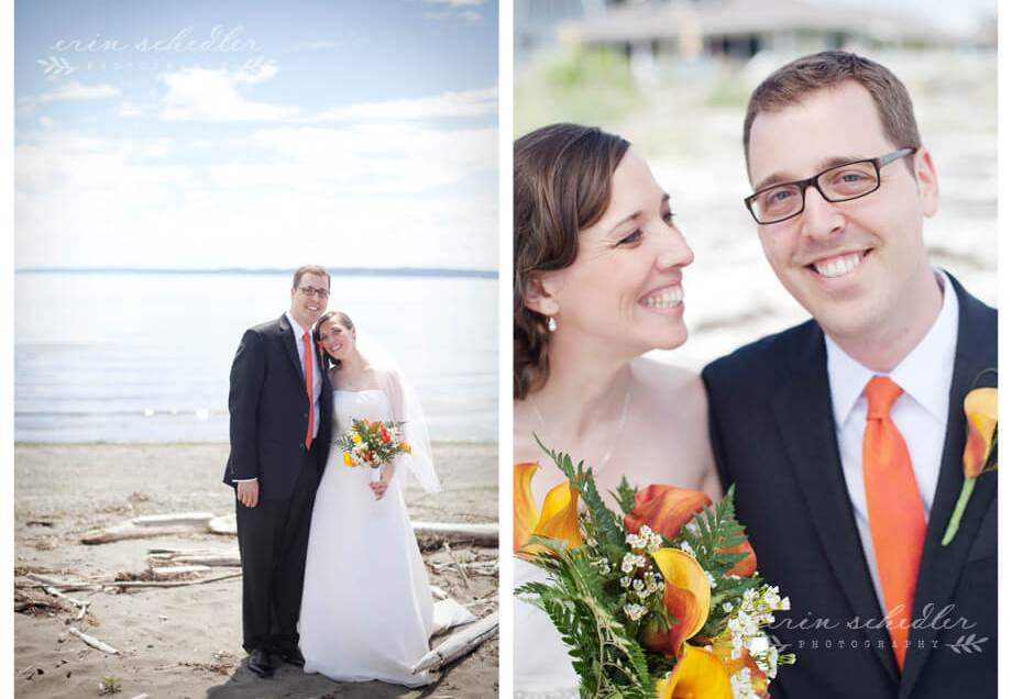 Megan + Ian | Wedding at Freeland Hall Whidbey Island