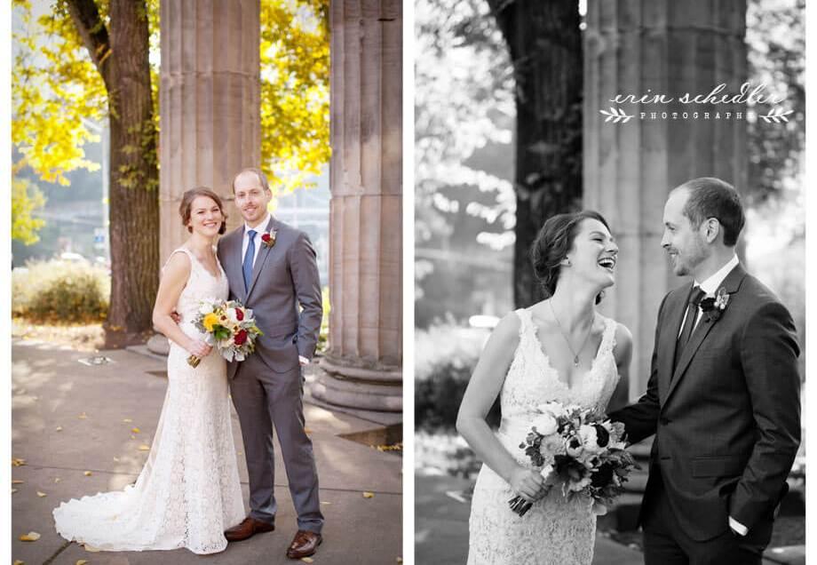 Amy + Gabe | Seattle Fall Wedding at Melrose Market Studios