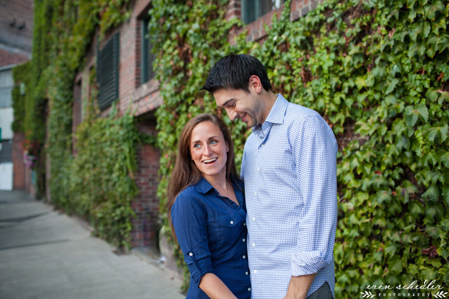 Molly + Case | Pioneer Square and Seattle Waterfront Engagement