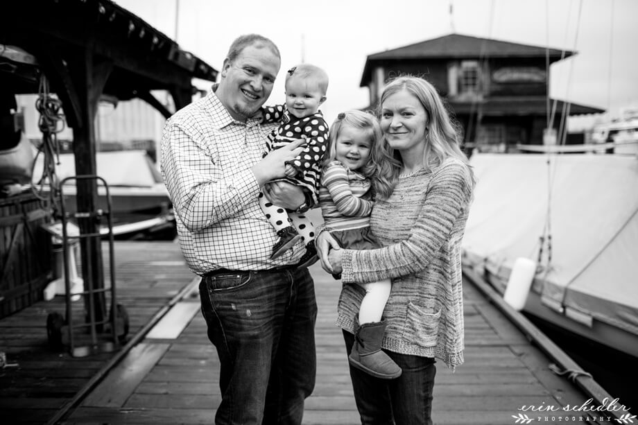 Seattle Family Photo Session // Center for Wooden Boats
