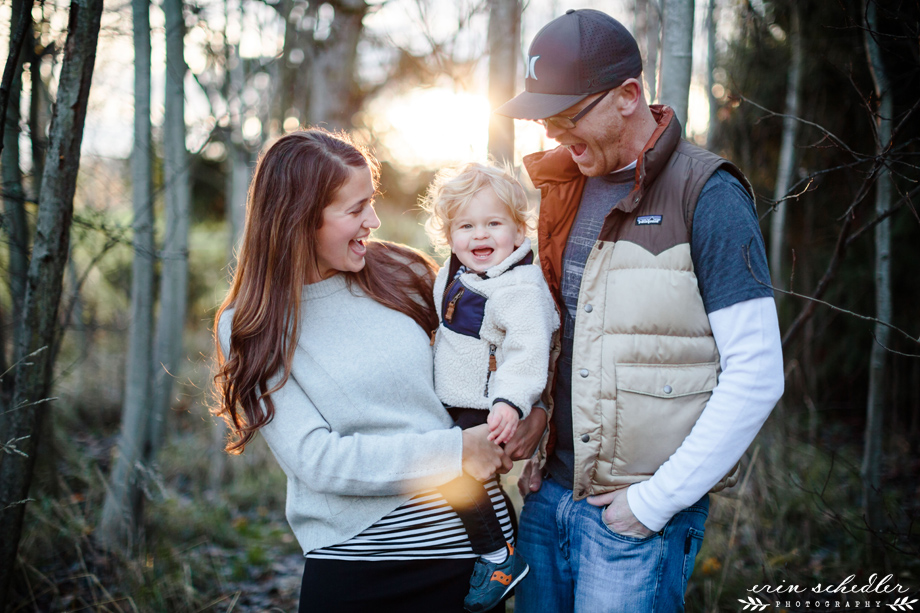 Fall Family Session / Seattle Child Photographer