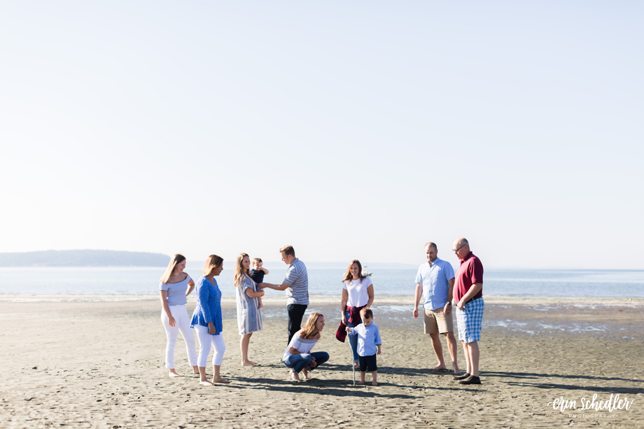 Extended Family Photos / Whidbey Island Photographer