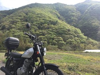 徳島夏子ダムの近く