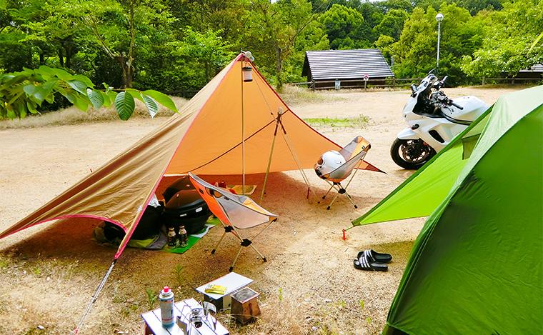 香川県さぬき市みろくキャンプ場