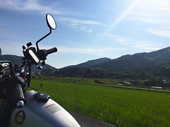 四国八十八カ所第28番大日寺へ向かう道