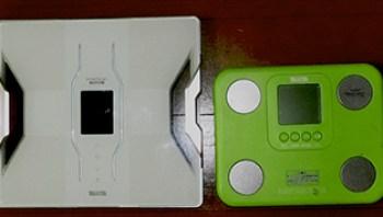 タニタの体重計デュアルタイプ体組成計 インナースキャンデュアル RD-903