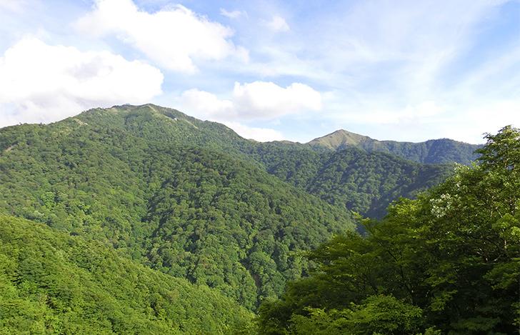 徳島県・剣山と次郎笈