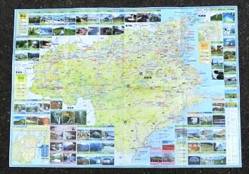 徳島の地図