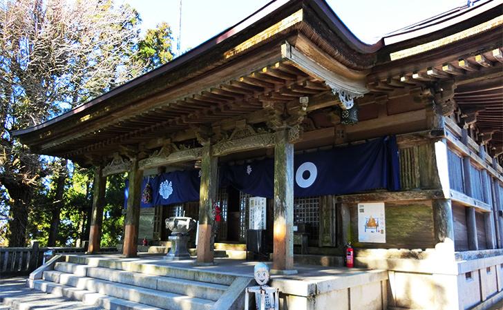 四国別格第7番出石寺・本堂